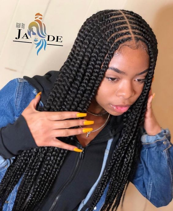 Braid Hairstyles With Weave 2020 Creative Styles To Inspire You Stylescatalog