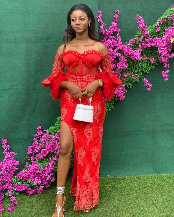 1601722676 332 Latest Asoebi Styles 2020 Stunning Lace Styles For Beautiful Ladies