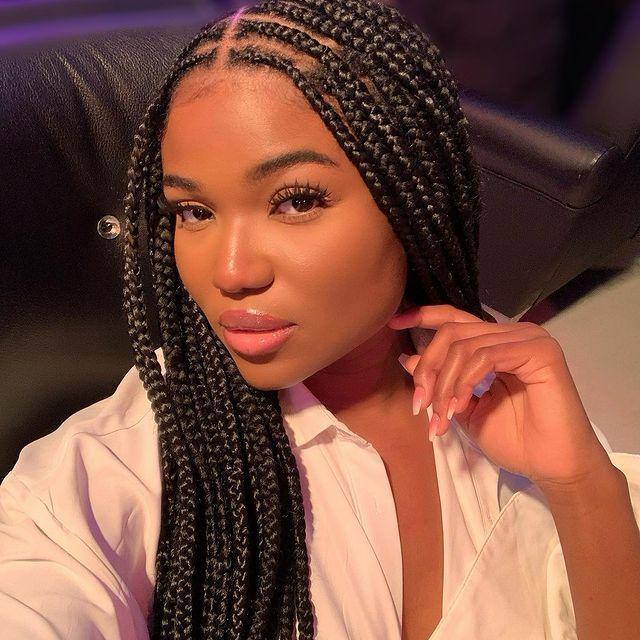 Best Black Braided Hairstyles To Stun This Season 2021 | Stylescatalog