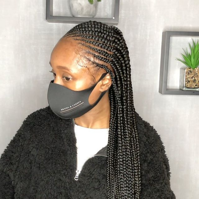 Latest African Braided Hairstyles 2021: Beautiful Braid ...