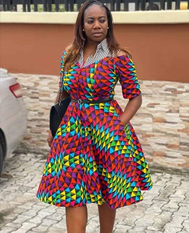 Stunning Ankara Dress Designs For Women