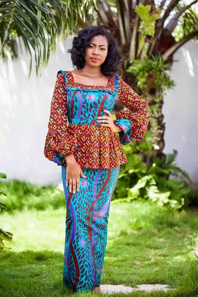 13 Elegant Ankara Skirt and Blouse Styles for Women